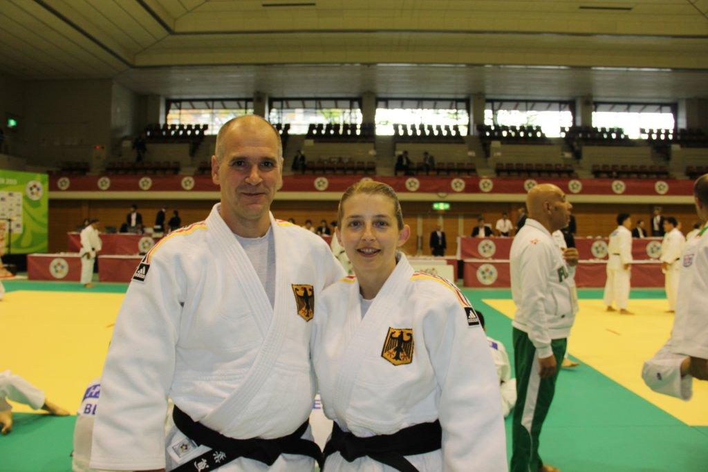 Kata-Partner Wolfang Fanderl und Heike Betz