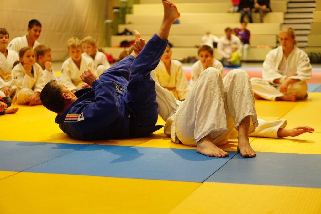 Selbstverteidigungstraining mit Joachim Kollmar
