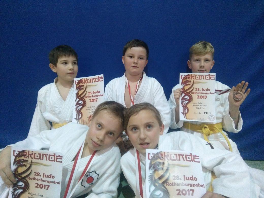 Rothenburgpokal 2017 - Kampf um den Meistertrunkhumpen im Judo