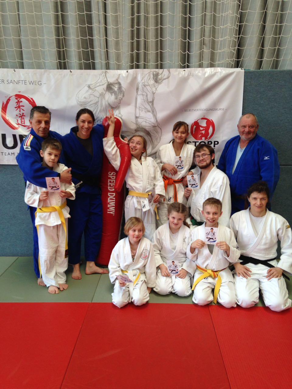 Judoka aus Niederstetten beim Lehrgang in Waldbach